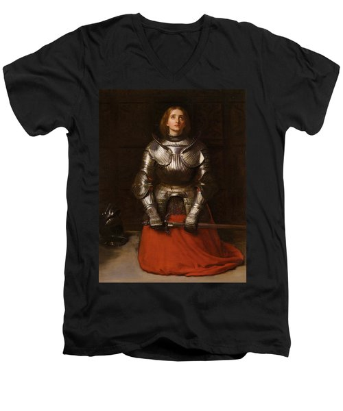 Joan Of Arc  Men's V-Neck T-Shirt