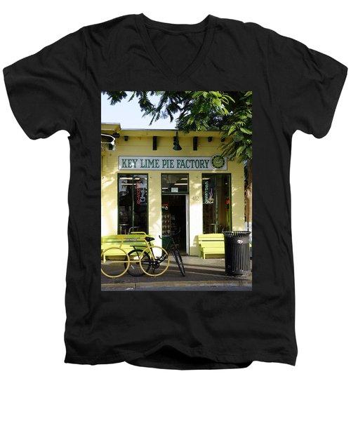 Key Lime Pie Men's V-Neck T-Shirt