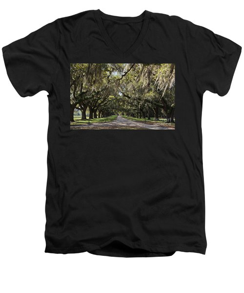 Live Oaks Men's V-Neck T-Shirt