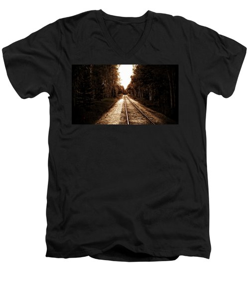 Lonely Railway Men's V-Neck T-Shirt