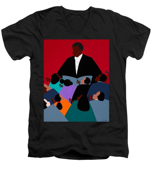 Maestro Men's V-Neck T-Shirt
