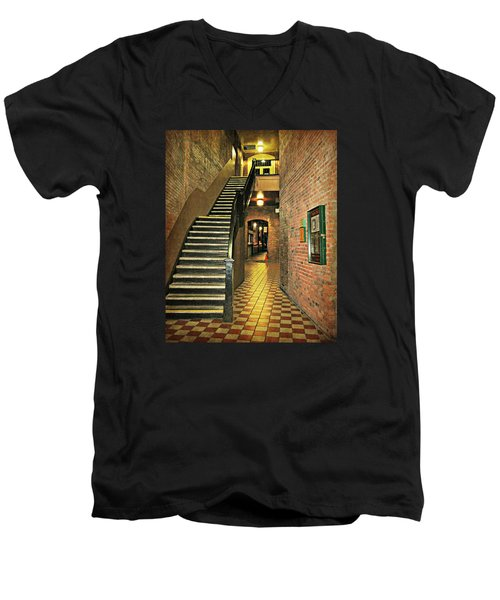 Market Square Men's V-Neck T-Shirt