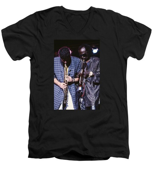 Miles Davis  Men's V-Neck T-Shirt