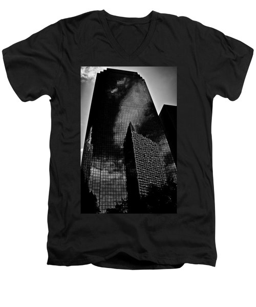 Monolith Men's V-Neck T-Shirt by Mark Alder