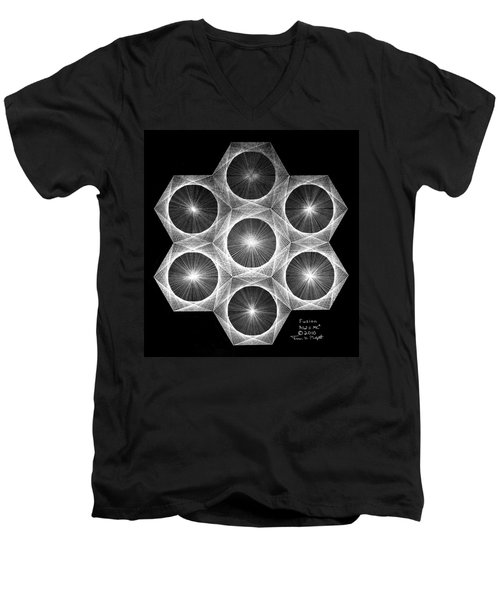 Nuclear Fusion Men's V-Neck T-Shirt by Jason Padgett
