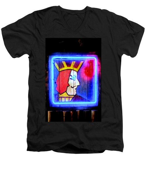 One Eyed Jacks Men's V-Neck T-Shirt