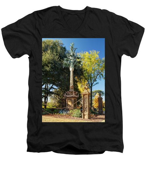 Palmetto Regiment Monument  Men's V-Neck T-Shirt
