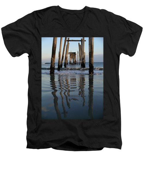 Pier Reflections Men's V-Neck T-Shirt