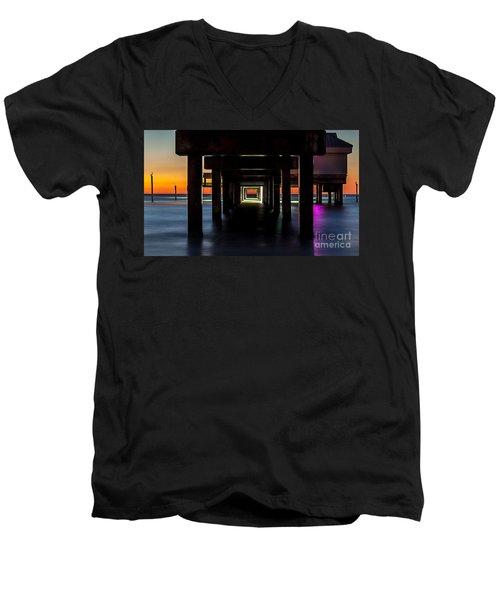 Pier Under II Men's V-Neck T-Shirt