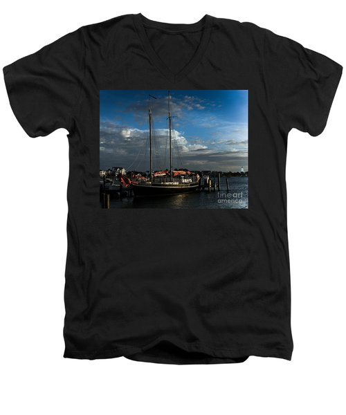 Ready To Sail Men's V-Neck T-Shirt