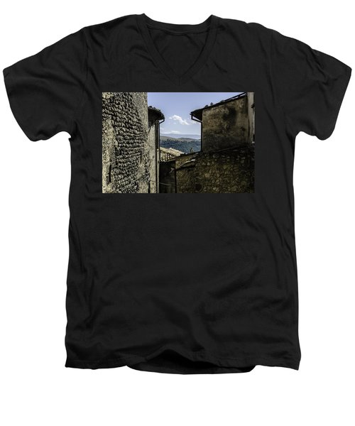 Santo Stefano Di Sessanio - Italy  Men's V-Neck T-Shirt