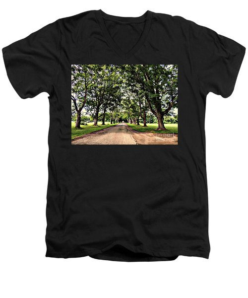 Spencer Peirce Little Farm Men's V-Neck T-Shirt