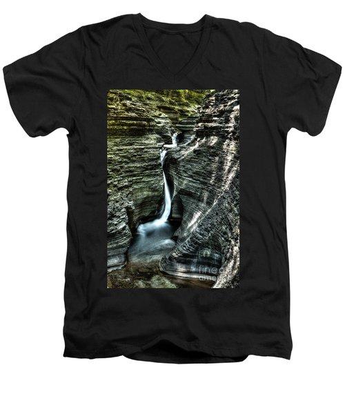 Spiral Gorge Watkins Glen Men's V-Neck T-Shirt