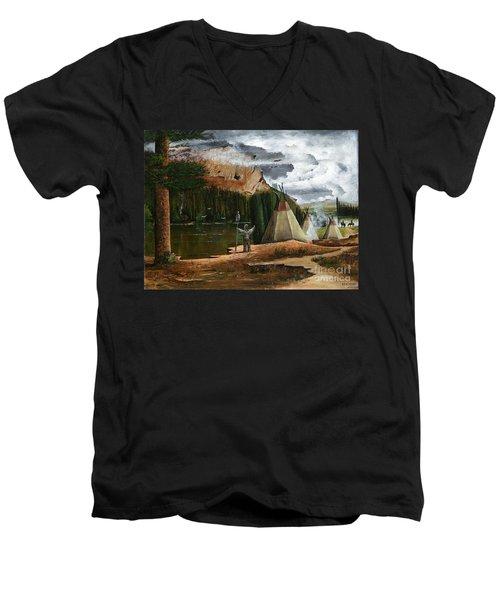Spiritual Home Men's V-Neck T-Shirt