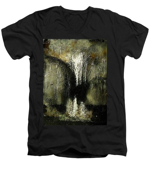 Stalactites And Stalagmites Men's V-Neck T-Shirt