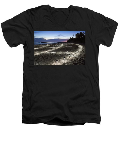 Stars On The Sand Men's V-Neck T-Shirt