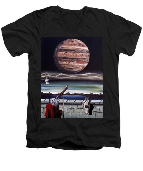 The Eternal Staring Contest Men's V-Neck T-Shirt