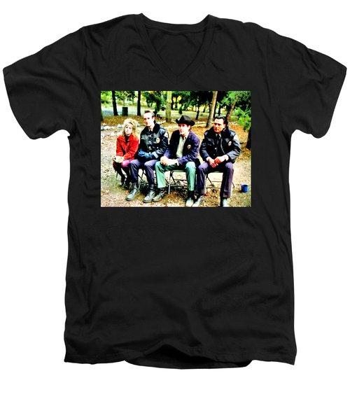Tibet Men's V-Neck T-Shirt
