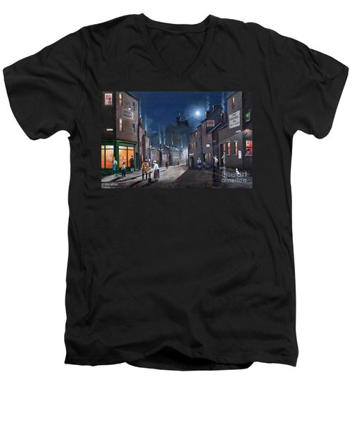 Tower Street Dudley C1930s Men's V-Neck T-Shirt