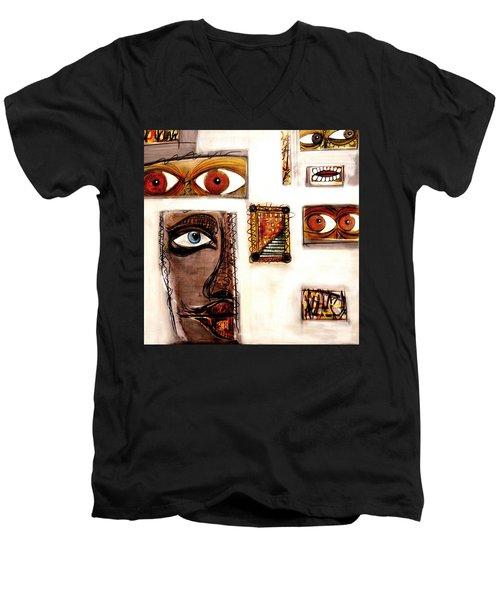 Un-named Men's V-Neck T-Shirt