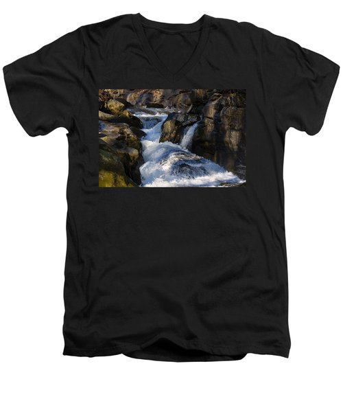 unnamed NC waterfall Men's V-Neck T-Shirt