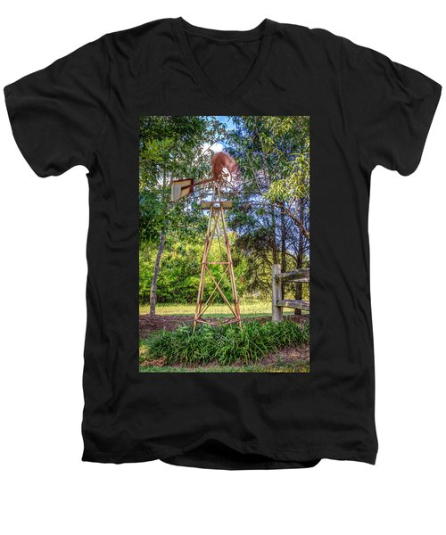Men's V-Neck T-Shirt featuring the photograph Warm Breeze by Rob Sellers