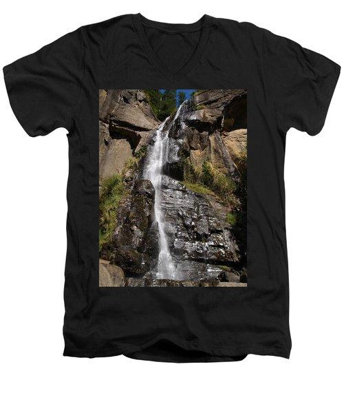 Wide Angle Shot Men's V-Neck T-Shirt