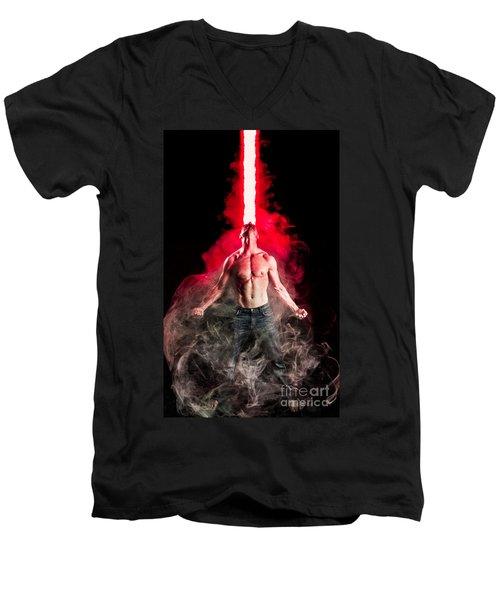 X-men Cyclops  Men's V-Neck T-Shirt