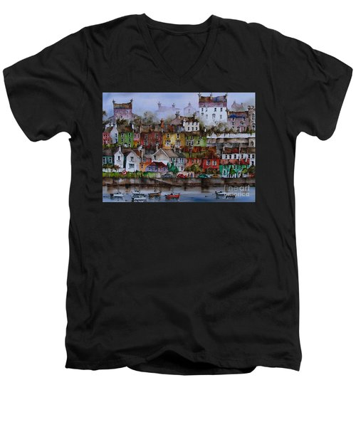 107 Windows Of Kinsale Co Cork Men's V-Neck T-Shirt