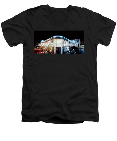 11th Street Diner Men's V-Neck T-Shirt