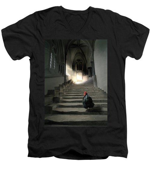 12. Lord Orp Men's V-Neck T-Shirt
