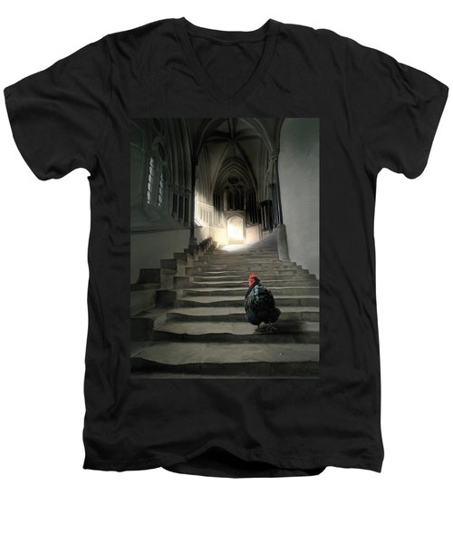 12. Lord Orp Men's V-Neck T-Shirt