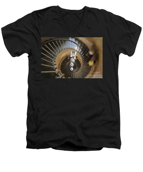 Men's V-Neck T-Shirt featuring the photograph 120920p004 by Arterra Picture Library