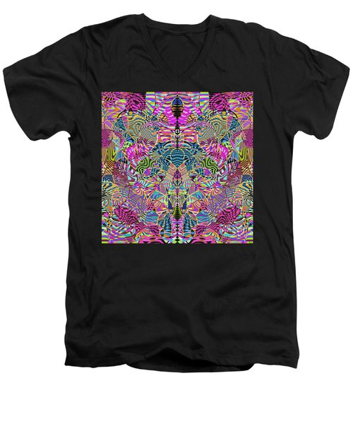 1332 Abstract Thought Men's V-Neck T-Shirt