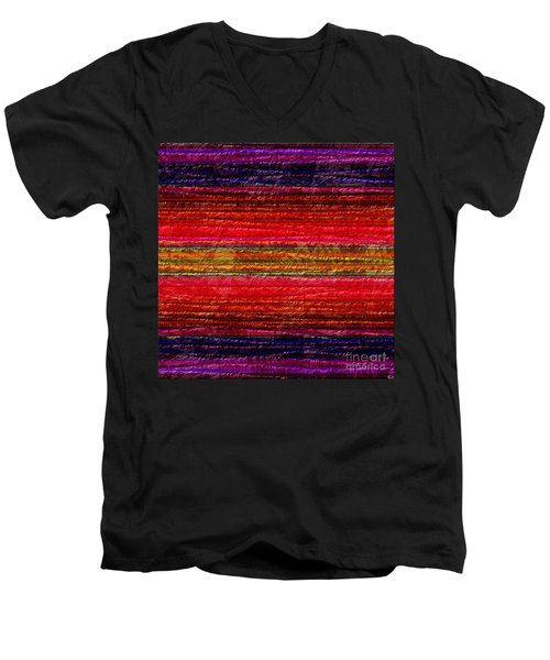 1342 Abstract Thought Men's V-Neck T-Shirt
