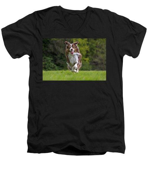 140420p079 Men's V-Neck T-Shirt