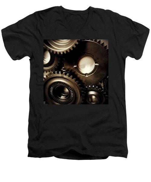 Cogs No3 Men's V-Neck T-Shirt