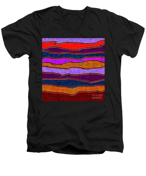 1536 Abstract Thought Men's V-Neck T-Shirt