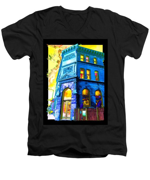 18th And Canal Men's V-Neck T-Shirt
