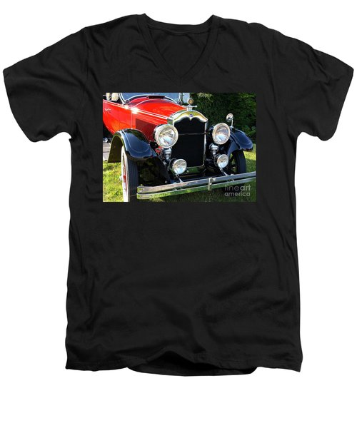 1924 Buick Men's V-Neck T-Shirt