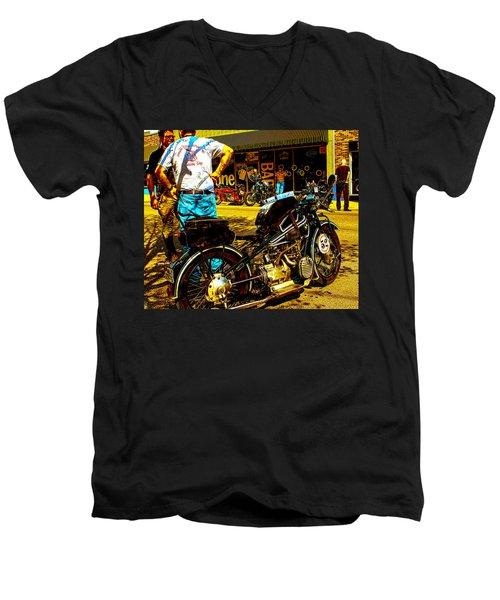 1928 Bmw  Men's V-Neck T-Shirt