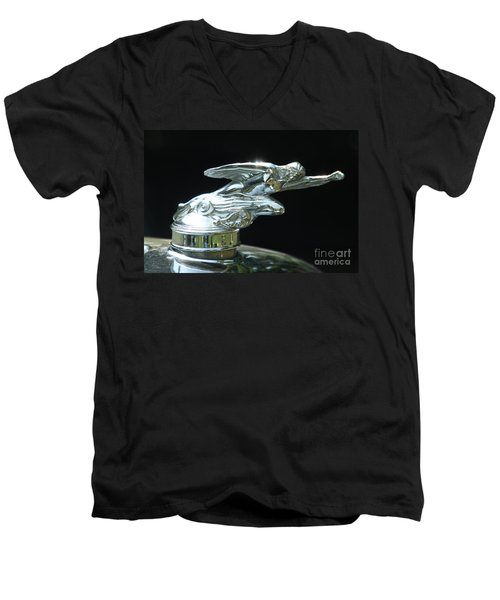 1928 Studebaker Hood Ornament Men's V-Neck T-Shirt