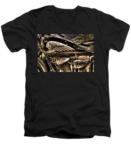 1934 Indian Chief Men's V-Neck T-Shirt