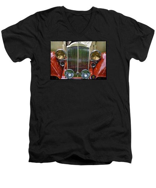 1928 Classic Packard 443 Roadster Men's V-Neck T-Shirt