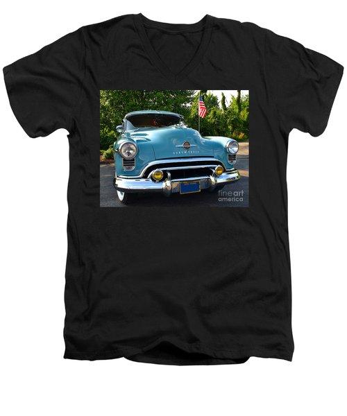 1950 Oldsmobile Men's V-Neck T-Shirt