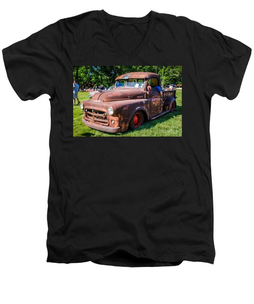 1952 Dodge Pickup Men's V-Neck T-Shirt