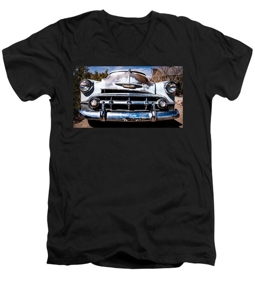 1953 Chevy Bel Air Men's V-Neck T-Shirt