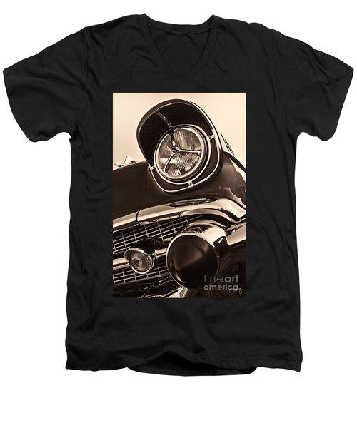 1957 Chevy Details Men's V-Neck T-Shirt