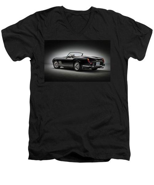 1961 Ferrari 250 Gt California Spyder Men's V-Neck T-Shirt