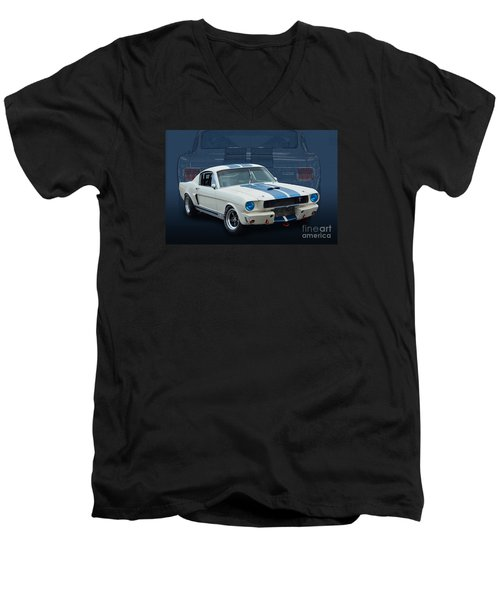 1966 Shelby Gt350 Men's V-Neck T-Shirt